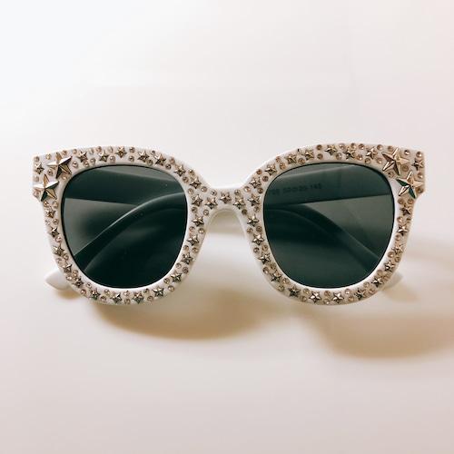Eyewear♡ウェリントン03 ホワイト