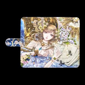 オリジナル手帳型Androidケース(L)【百年の窒素】 / yuki*Mami