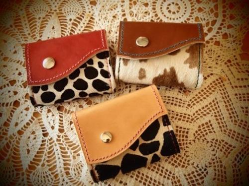 ハラコの3つ折り財布  (KA106b2)
