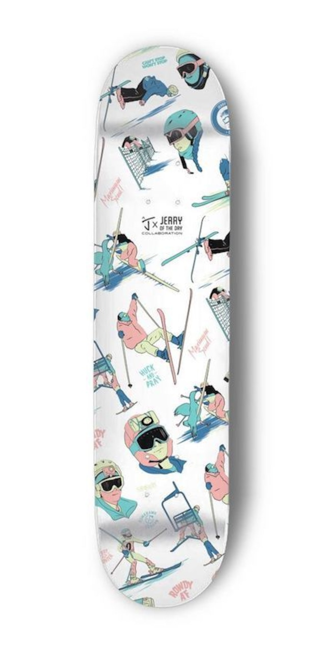 J skis - JERRY OF THE DAY スケートデッキ