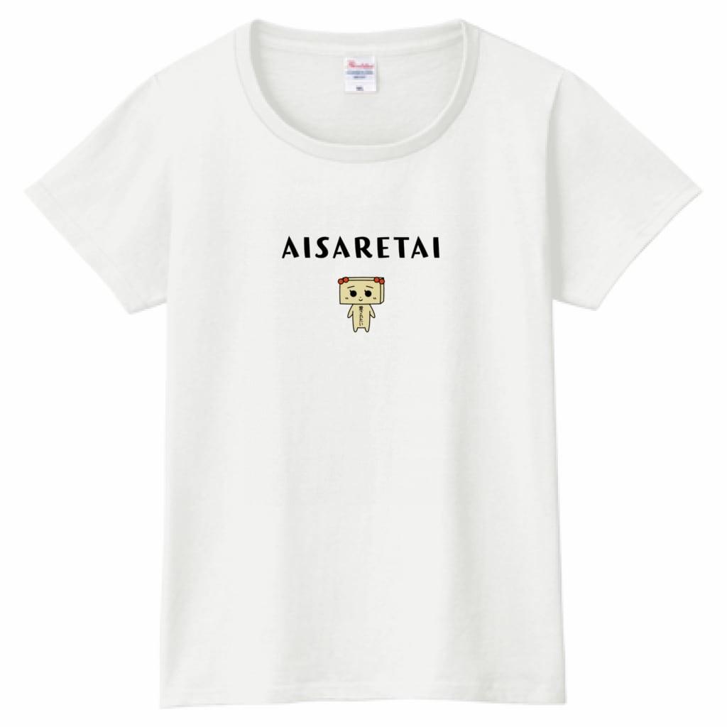 とうふめんたるずTシャツ(たまえちゃん・レディース)