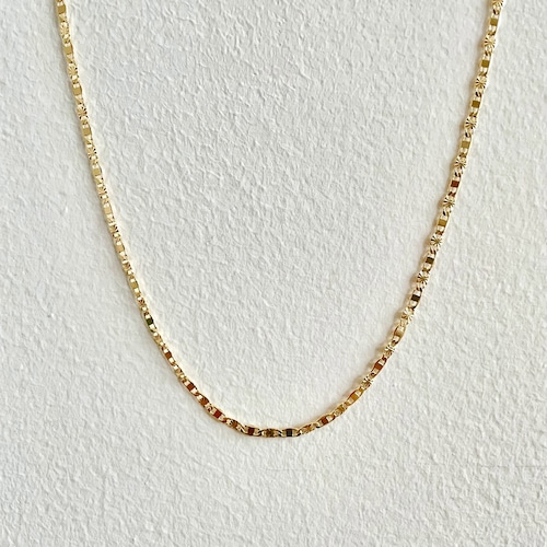 【GF1-117】18inch gold filled chain necklace
