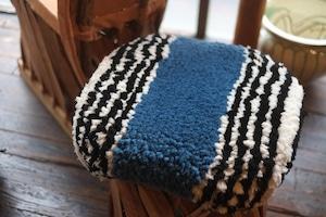 ◆【ノッティング・手織りの椅子敷き】(大) ◆ NEW!   #20210614