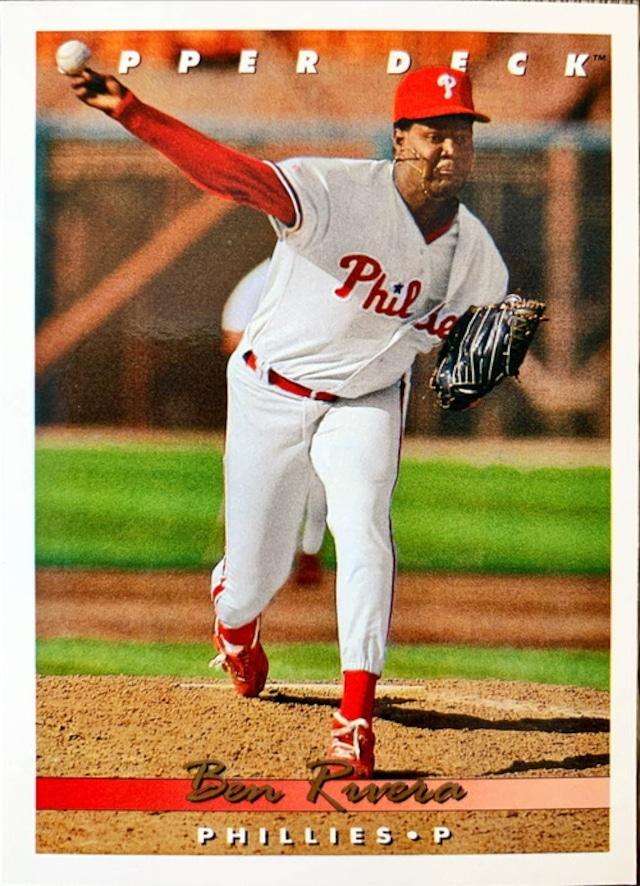 MLBカード 93UPPERDECK Ben Rivera #389 PHILLIES