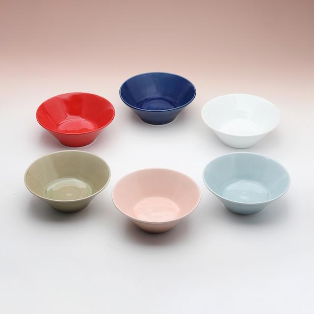 カラー 高台小鉢(各色)