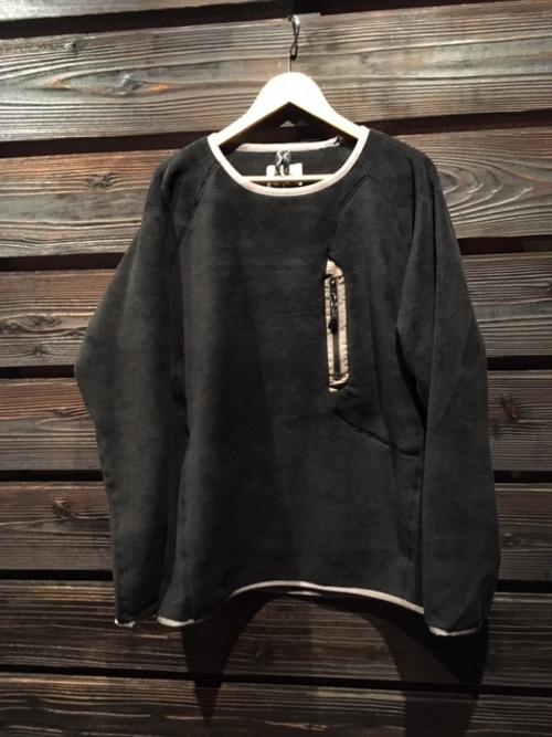 SPELLBOUND フリースシャツ 48-622Z  ブラック Lサイズ