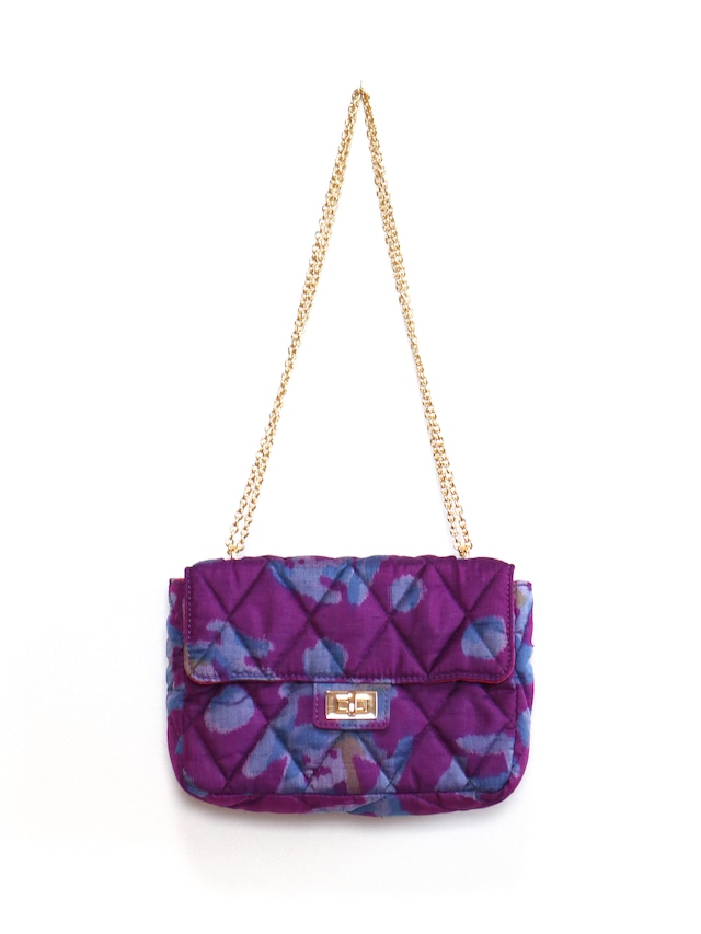 QUILTED CHAIN BAG - 01