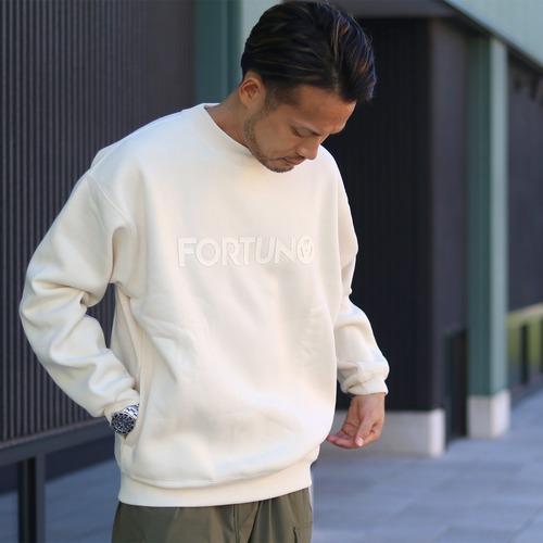FORTUNA HOMME/フォルトゥナオム FHPO-0039 ECOTEC裏起毛スウェットトレーナー