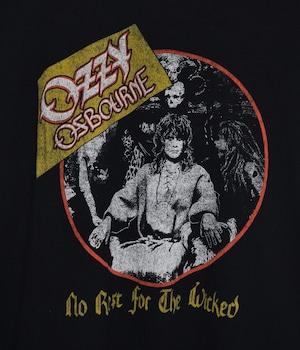 USED BAND T-SHIRT -Ozzy Osbourne-
