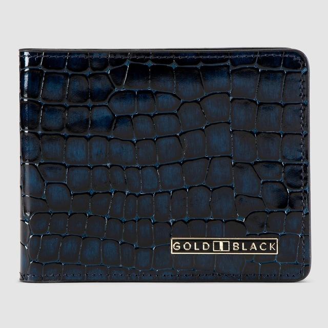 ゴールドブラック(GOLDBLACK) GM WALLET MILANO BLUE
