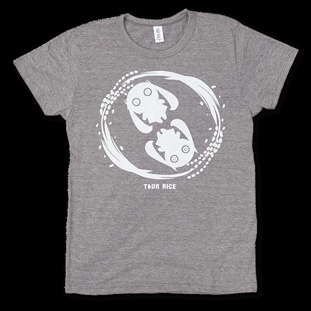 ピノキオピー 銀シャリTシャツ(レディース/玄米バージョン) - メイン画像