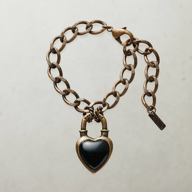 Never End® Bracelet Gold/Black ♯0103 ネバー・エンド ブレスレット  ゴールド/黒