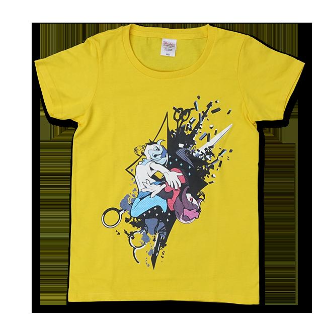 DECO*27「モザイクロール」Tシャツ レディース:デイジー - 画像1