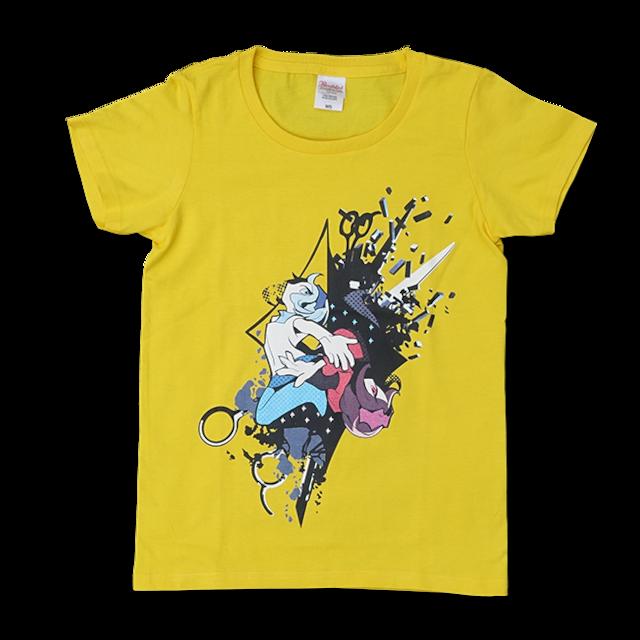 DECO*27「モザイクロール」Tシャツ レディース:デイジー - メイン画像