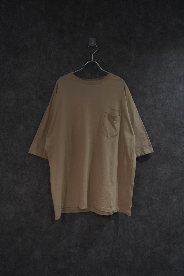 【受注】Connecter Tokyo original pocket tee(beige)