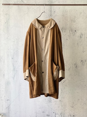 antique remake robe coat