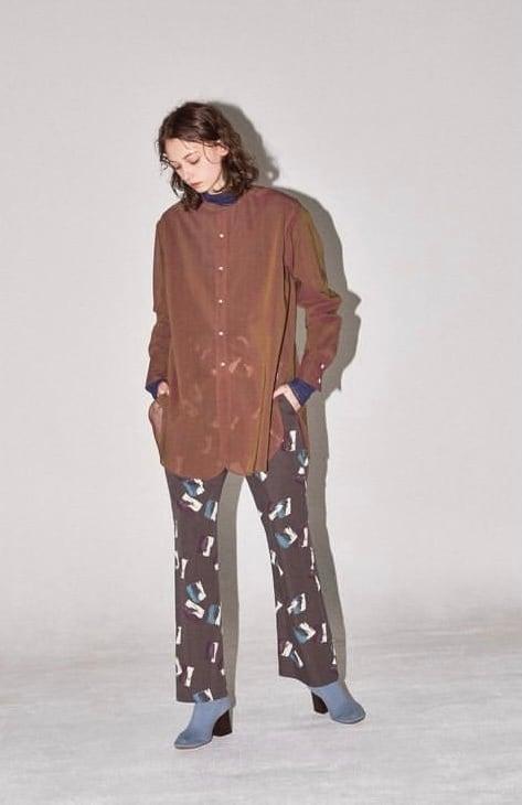 FILLTHEBILL  brush pattern easy pants
