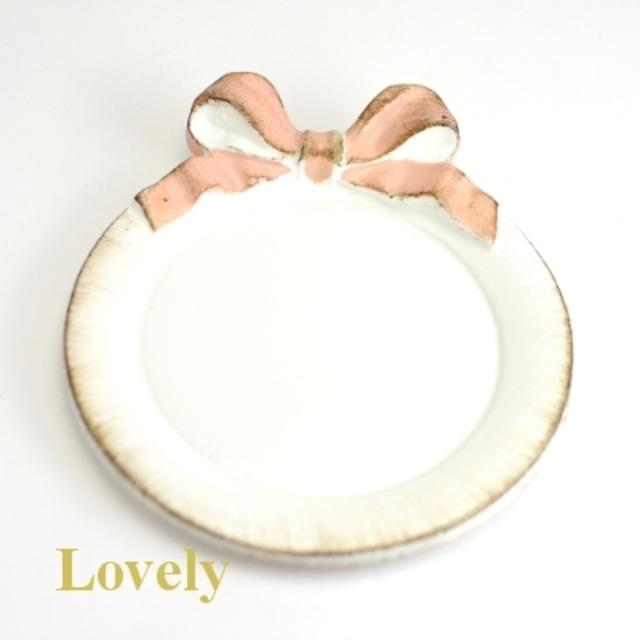 【SOLDI ソルディ】おリボントレー・ピンクリボン
