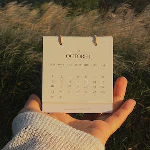 [p.palette] 2022 卓上 ミニ カレンダー