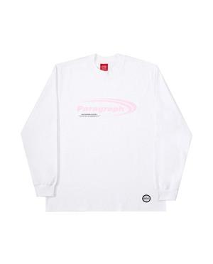 【PARAGRAPH】ロゴロングスリーブTシャツ