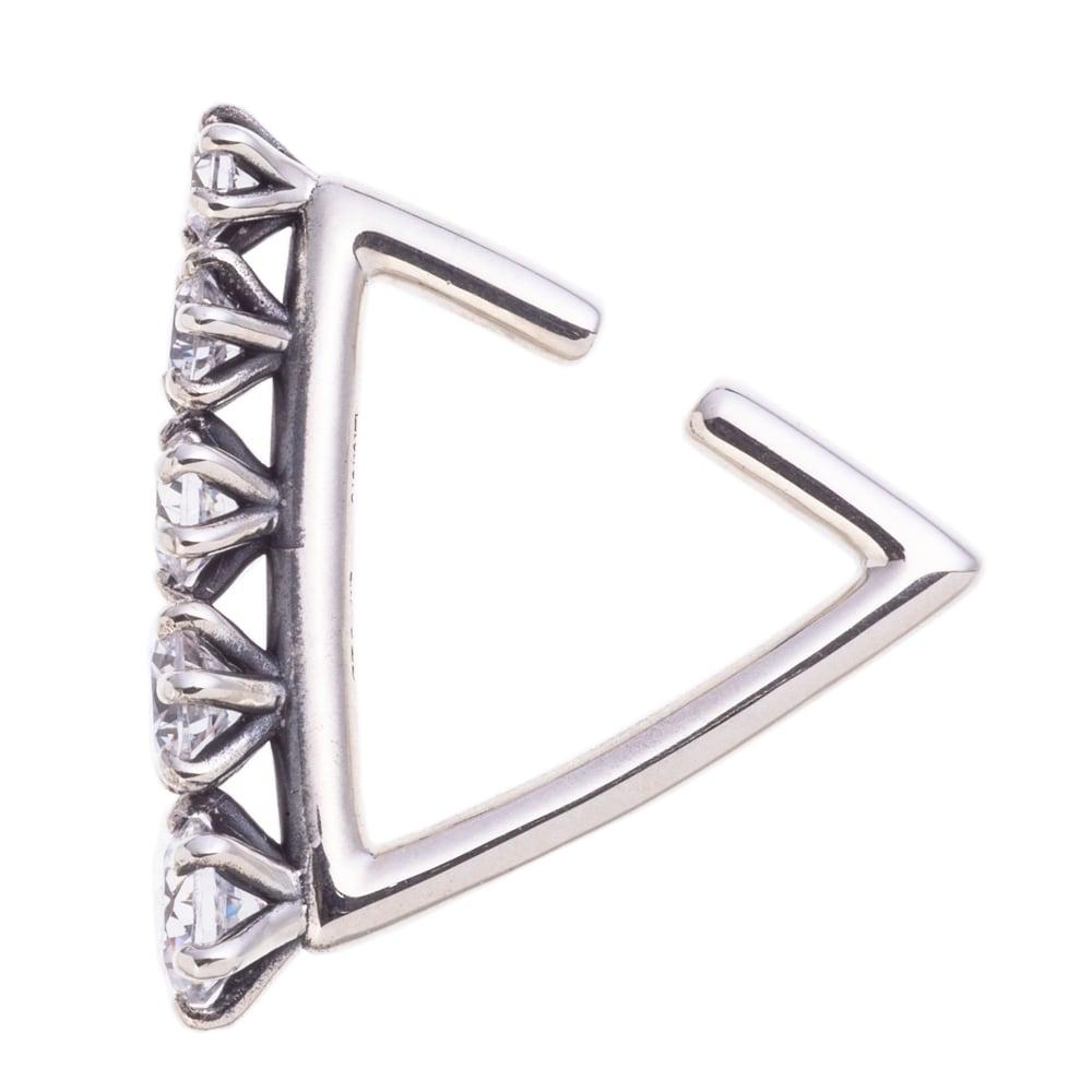 グラデトライアングルイヤーカフ ACE0157 Gradation Triangle Ear Cuff