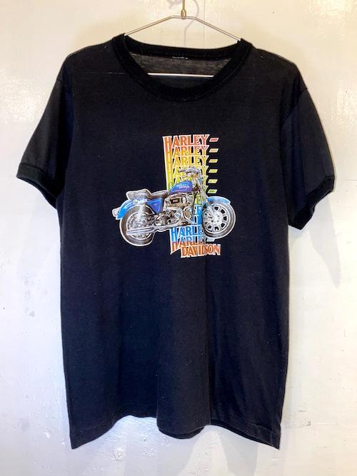 HARLEY DAVIDSON リンガーTシャツ