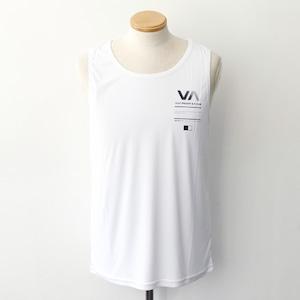【RVCA】 REFLECTIVE RVCA BALANCE BOX TANK (WHITE)