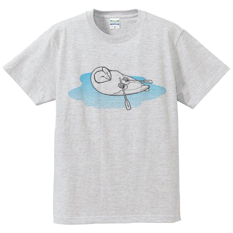 舟漕ぐオールTシャツ