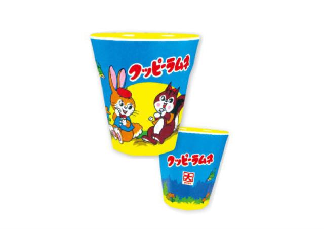 【大好評クッピーラムネデザイン!】お菓子シリーズ メラミンカップ