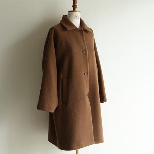 STILL BY HAND【womens】wool raglan coat