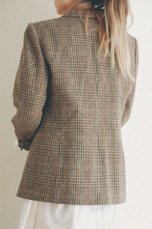 80's LAUREN wool jacket