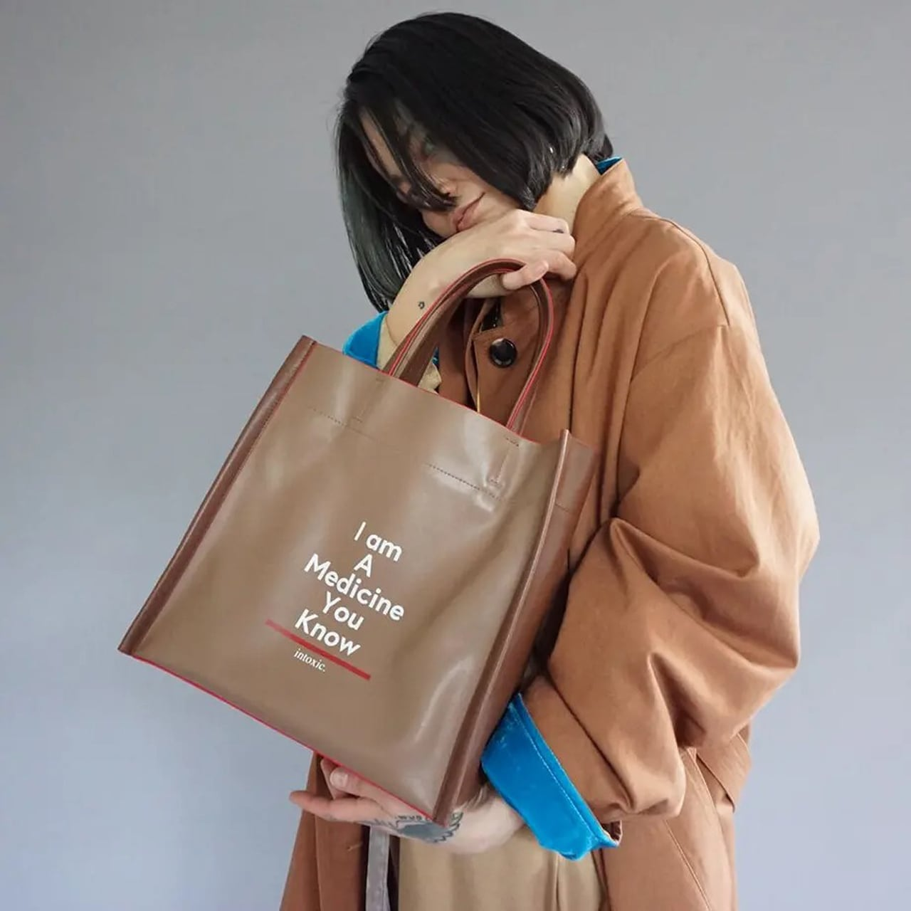 intoxic/イントキシック Autumn intoxic.新作 BOX TOTE FC-008