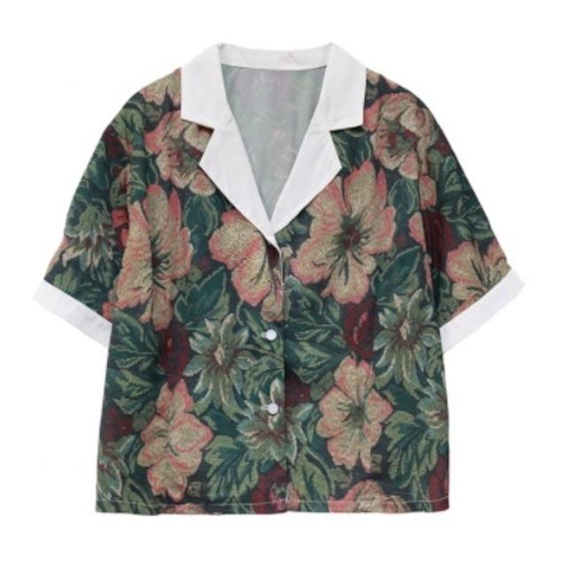 Vintage like collar shirt(ヴィンテージライクカラーシャツ)b-382