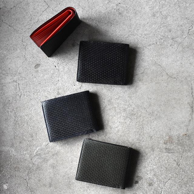 [イタリアン バケッタレザー] 折財布 M1001-19A 全4カラー
