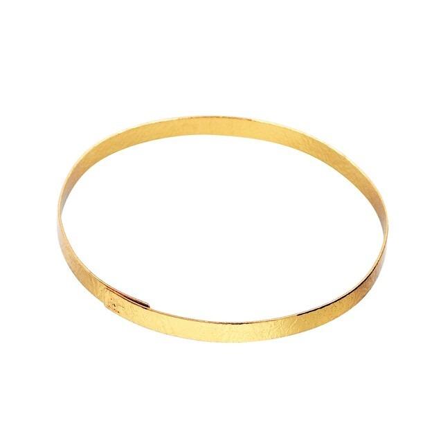 《ブレスレット》TIN BREATH 10mm Gold plate