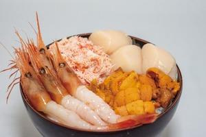 (4〜5人前)海鮮丼・雅 うに・カニ・ほたて・甘エビ入り