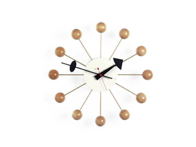 【Vitra Design Museum】Ball Clock 【Natural Color】