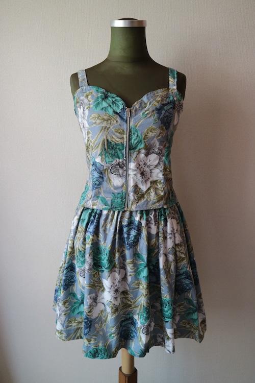 Summer dress set up -LIGHT BLUE-