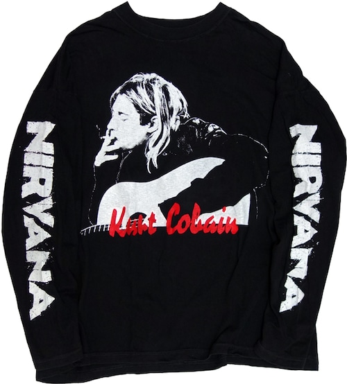 90~00s Kurt Cobain ロンT