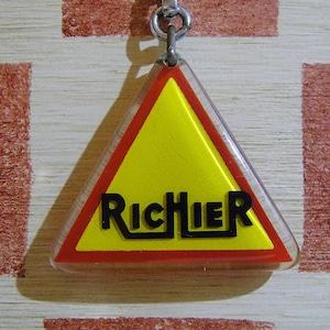 フランス RICHIER[リシエ]道路建設用重機メーカー企業広告ノベルティ ブルボンホルダー