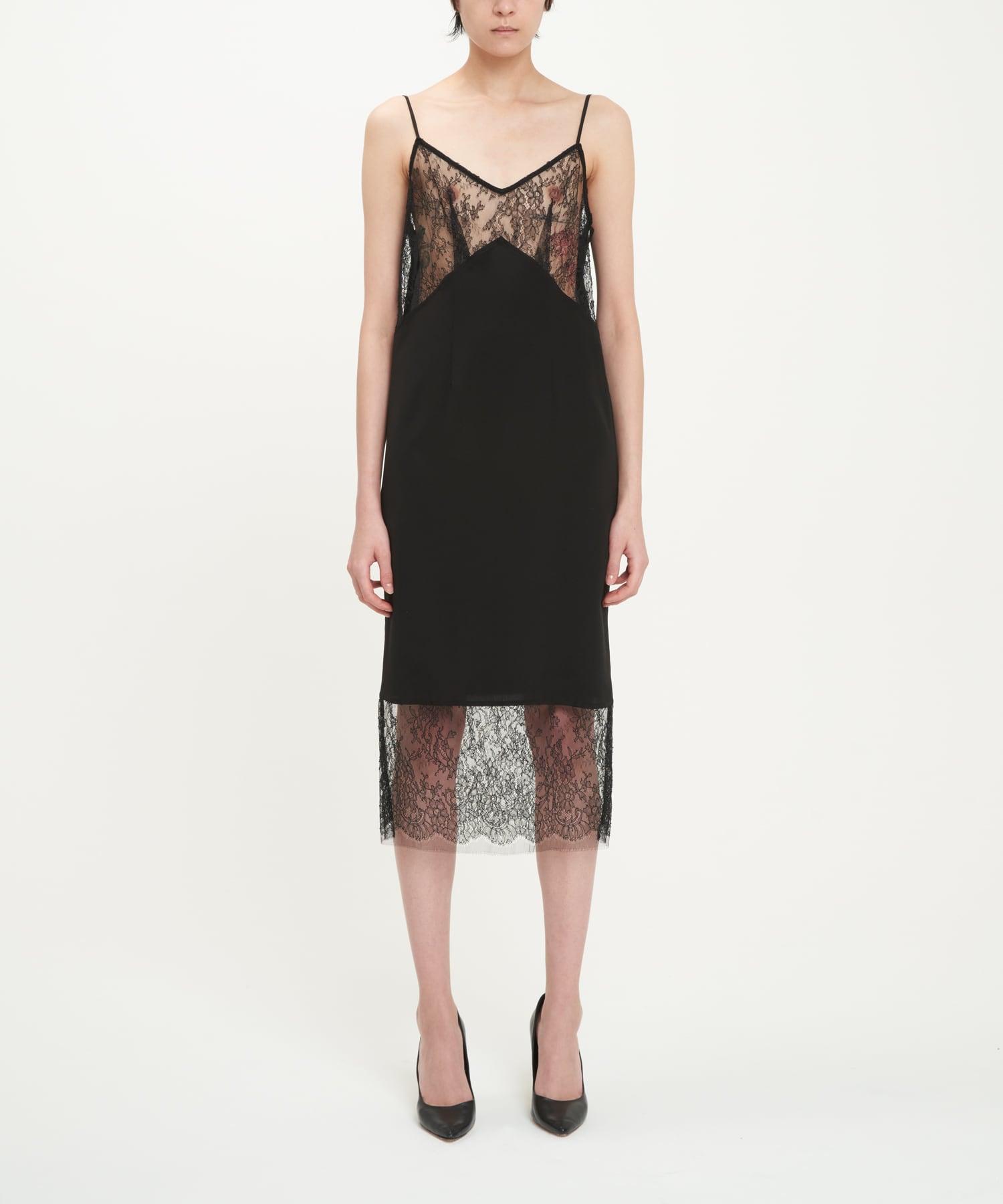 Black River Lace Slip Dress