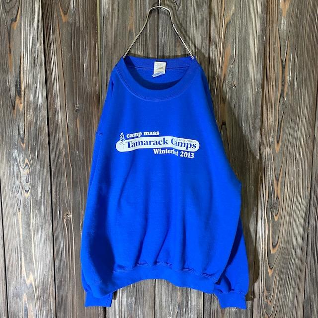 [used]Tamarack Camps blue  sweat