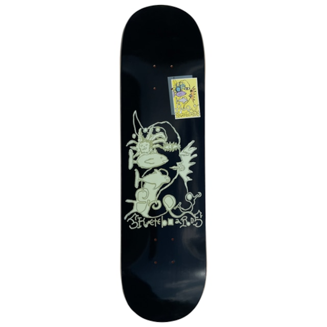 Frog skateboards Queen of Frog Land Deck