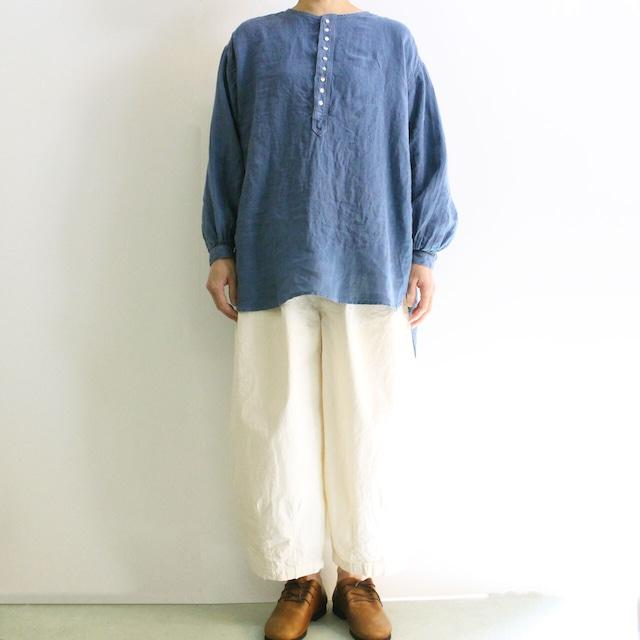 【再入荷】BROCANTE ブロカント カンパーニュシャツ 36-172L リネンキャンバスプルオーバーシャツ