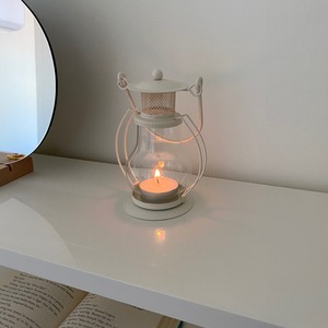 antique lamp candle holder / アンティーク調 ランプ ティーライト キャンドル ホルダー 韓国 インテリア 雑貨