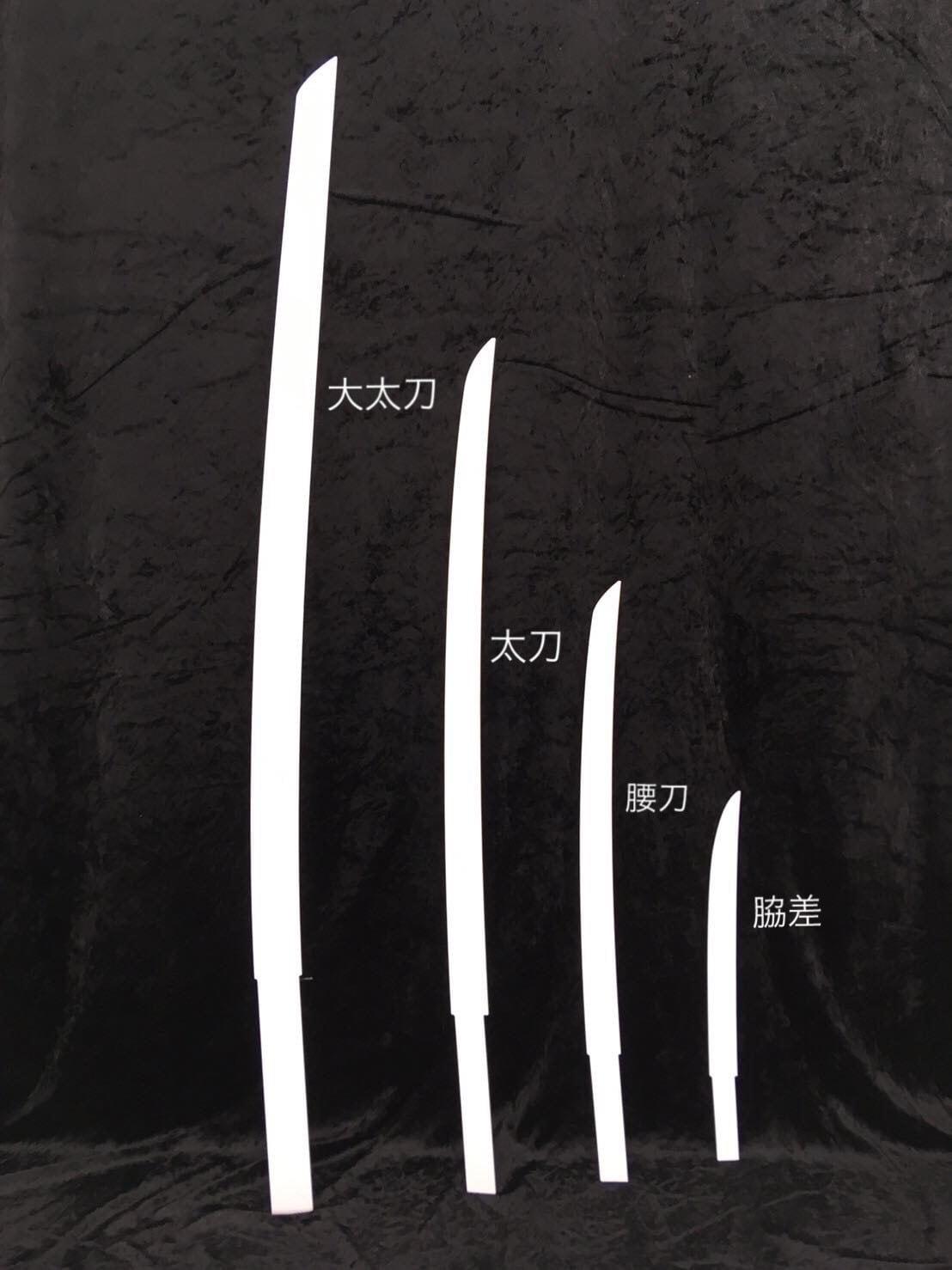 造形ベース(日本刀タイプ【太刀】)