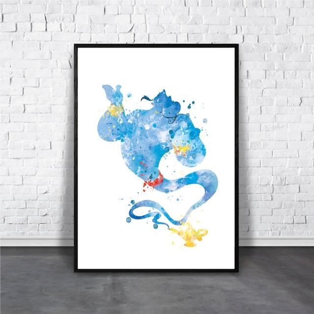 Genie / 【アートポスター専門店 Aroma of Paris】[AP-000151]