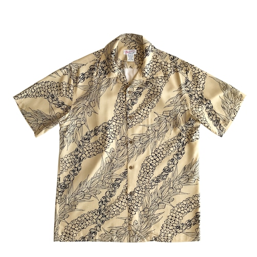 Mountain Men's オープンアロハシャツ /  Lei Aloha