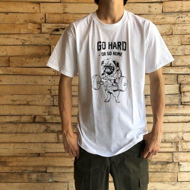 TOPANGA Men's Go Hard Tシャツ ホワイト