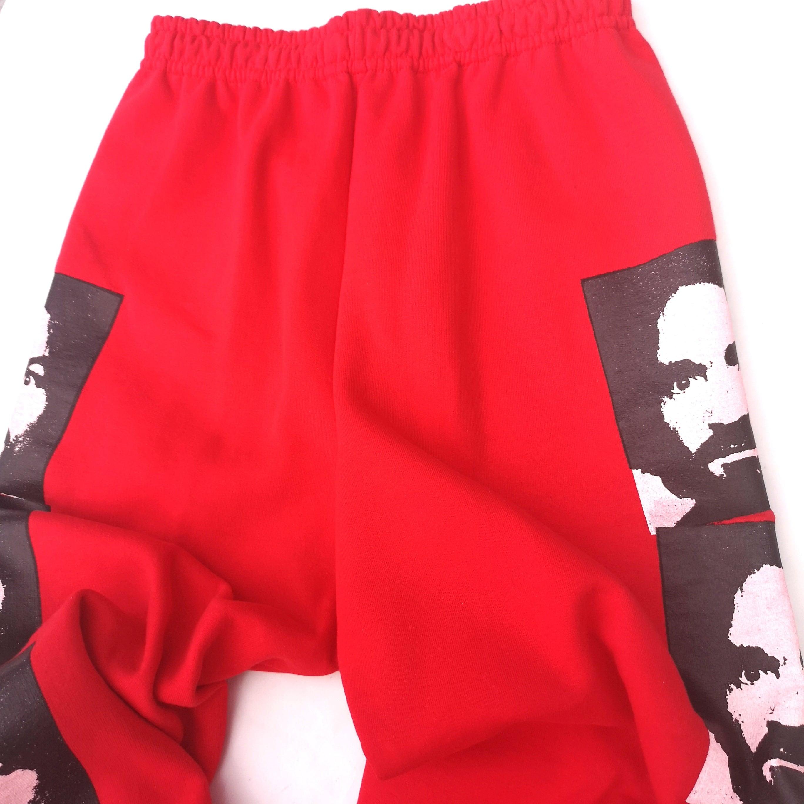 ||||| MANSON SWEAT PANTS RED